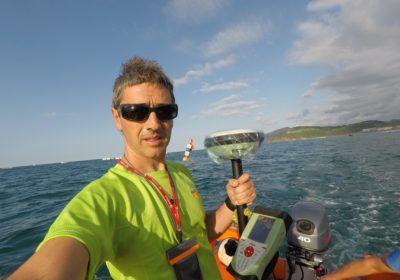 Liga ACT y regatas de la KONTXA – Cálculo y replanteo de campos de regata de traineras
