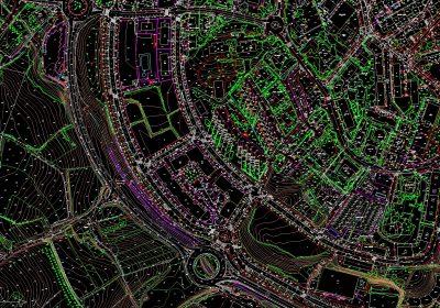 Actualización de cartografía en Hondarribia