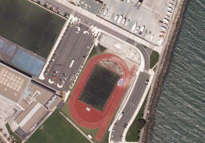 Obra Zona deportiva en Hondarribia