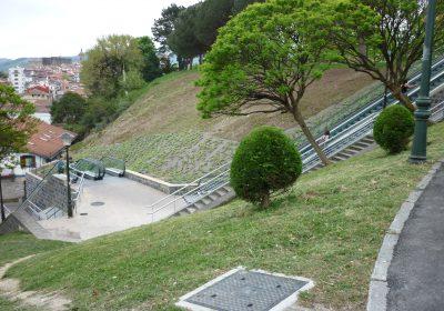 Escaleras mecánicas en Hondarribia