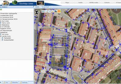 Toma de datos para GIS en Usurbil
